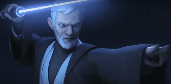Star Wars Rebels Trailer teases Obi Wan Kenobi Vs Darth Maul